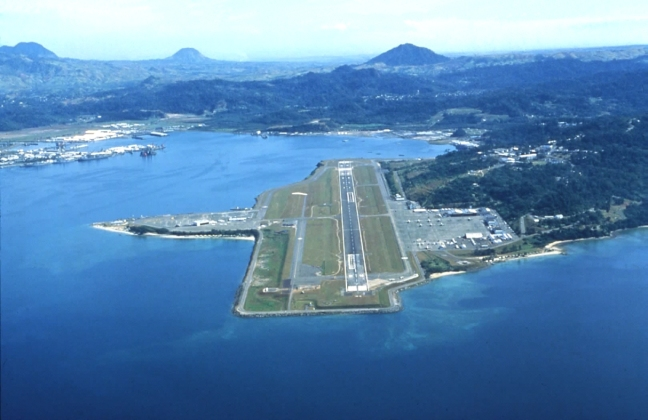 NAS Cubi Point runway